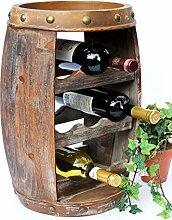 DanDiBo Etagère à vin Tonneau de vin 1555 Bar