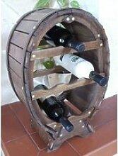 DanDiBo Etagère à vin Tonneau de vin pour 6