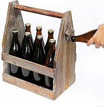 DanDiBo Panier à bière avec ouvre-bouteille 5087