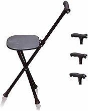 DAQUANTOU Chaise de Tabouret de Bâton de Marche