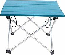 DAXIAO Table de camping pliante en aluminium