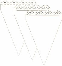 dayka Trade Silhouette en carton fin et Flexible,