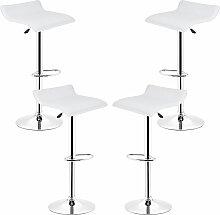 DazHom®Lot de 4 tabourets de bar - hauteur