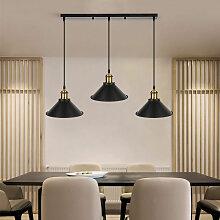 DazHom® Trois longues bandes de lustre de plafond