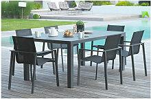 Dcb Garden - Table aluminium Miami - Dimensions