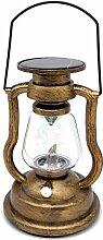 Dcolor Lampe à Huile Suspendue Solaire RéTro LED