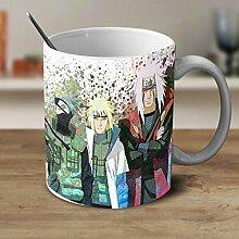 DDGFX Minato Kakashi Naruto Mug Tasses À Bière