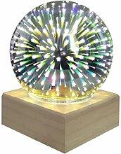 DDyna 3D Boule de Cristal colorée Cristal