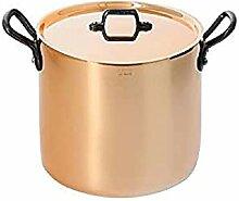 DE BUYER -6468.20 -marmite cuivre-inox a