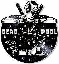 Deadpool Vinyl Record horloge murale - Marvel 12