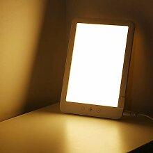 Decdeal Lampe de Luminothérapie 10,000 Lux,LED