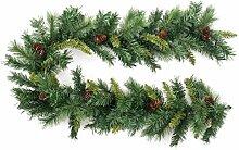 Déco Noël - Guirlande de sapin artificiel +