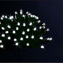 Déco Noël - Guirlande lumineuse solaire 50 LED,