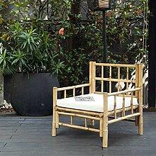 DECOCLICO Fauteuil de Jardin en Bambou