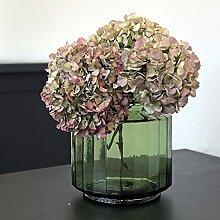 DECOCLICO Vase façon bonbonnière facetté