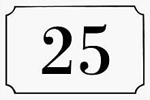 Decoho - Numéro de maison / rue gravé et