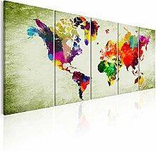 decomonkey | Impression sur Toile intissée Carte