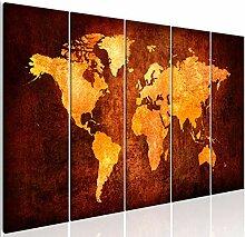 decomonkey | Tableau Acoustique Carte du Monde