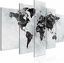 decomonkey | Tableau Acoustique Carte du Monde XXL