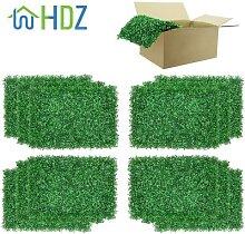 Décor à la maison verdure murs panneaux de buis