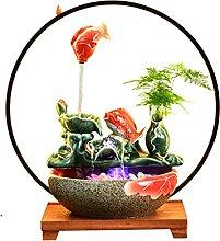Décoration d'aquarium Fontaine de table