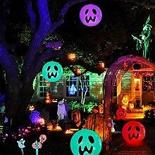 Décoration d'Halloween gonflable, lampe