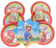 Décoration de fête à thème Super Mario,