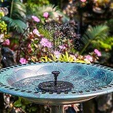 Décoration de fontaine à énergie solaire,