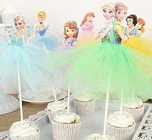 Décoration de gâteau à thème de fête