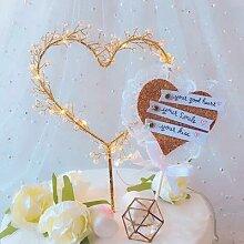 Décoration de gâteau de mariage pour