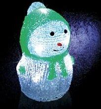 Décoration de noël lumineuse - 8 led - vert