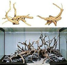 Décoration en bois naturel pour Aquarium, arbre