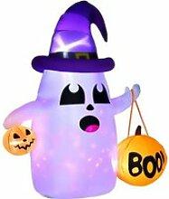 Décoration fantôme Halloween LED 1,8H m