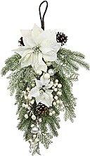 Décoration Florale à Suspendre avec Sapin