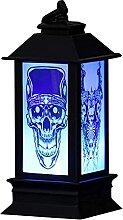 Décoration LED Bougie Lanterne De Poche Halloween