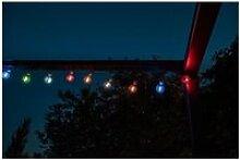 Decoration lumineuse guirlande solaire guinguette