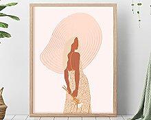 Décoration murale Boho - Dessin minimaliste