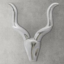 Décoration murale en forme de tête de gazelle en