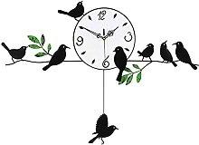Décoration murale murale horloge murale horloge
