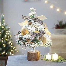 Décorations d'arbre de Noël de Table Mini