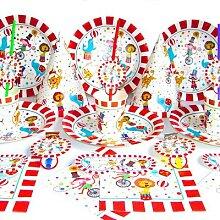 Décorations de fête sur le thème du cirque,