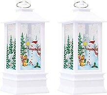 Décorations De Noël Simulation Petite Lampe À