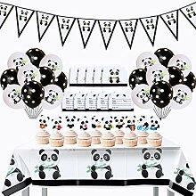 Décorations Fête Panda pour Enfants, Décoration