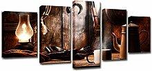 Décorations Murales 5 Pieces Image sur Toile -