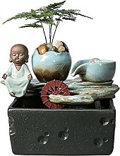 Decorative Table Fontaine Cascade Humidificateur