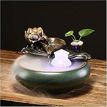 Decorative Table Fontaine Fontaine de bureau