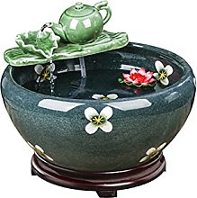 Decorative Table Fontaine Tabletop Waterfall