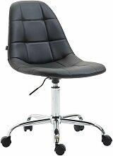 Décoshop26 - Chaise de bureau tabouret