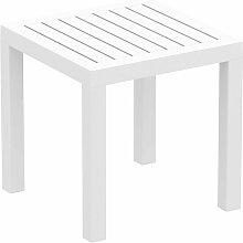 Décoshop26 - Petite table de jardin en plastique