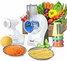 Découpe Légumes Électrique 3en1 Épais Trancher